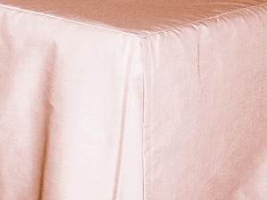 Twin Pink Tailored Dustruffle Bedskirt