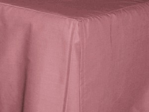 Antique Rose Tailored Dustruffle Bedskirt