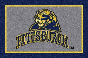 Pittsburgh Panthers Alternate Team Logo Area Rug