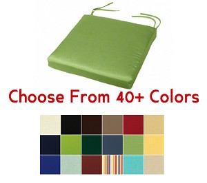 "Chair Pad 16"" x 16"", CHOOSE YOUR COLOR"