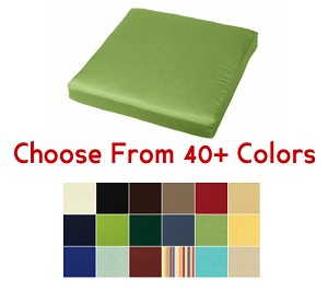 "Chair Pad 20"" x 18"", CHOOSE YOUR COLOR"