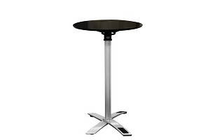 Yang Black / Silver Folding Event Table