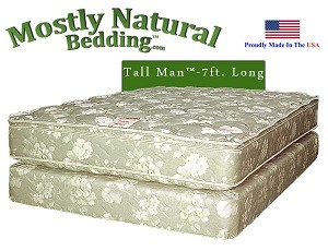 Tall Man™ King Size Abe Feller® BEST Mattress