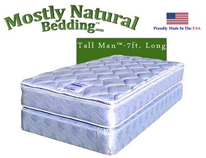 Tall Man™ Queen Size Sleep Smith® BETTER Mattress