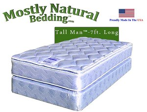 Tall Man™ Twin Size Abe Feller® BETTER Mattress