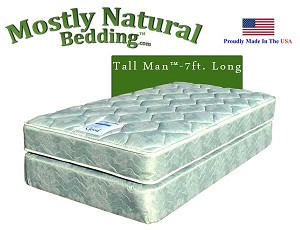 Tall Man™ Twin Size Abe Feller® GOOD Mattress