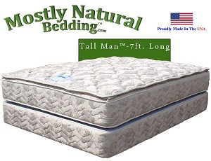 Tall Man™ Queen Size Abe Feller® GRAND Mattress