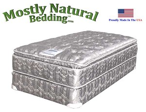 Twin XXL Size Abe Feller® Mattress Set PREMIUM