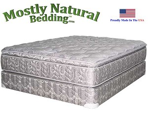 King Tall Man™ Size Mattress Set Abe Feller® PREMIUM