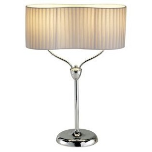 Infinity Table Lamp with Chrome Finish