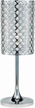 Glitz Table Lamp with Chrome Finish