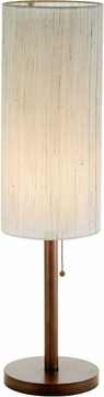 Hamptons Table Lamp with Walnut Finish