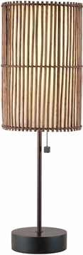Maui Table Lamp with Antique Bronze Finish