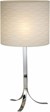 Ariel Table Lamp with Chrome Finish