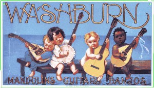 Washburn Guitars Metal Sign