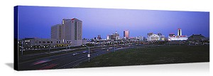 Atlantic City, New Jersey Convention Center Skyline Panorama Picture