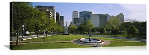 Austin, Texas City Park Panorama Picture