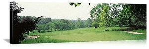 Baltimore, Maryland Country Club Panorama Picture
