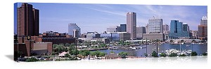 Baltimore, Maryland  Harbor Panorama Picture