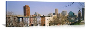 Baltimore, Maryland Skyline Buildings Panorama Picture