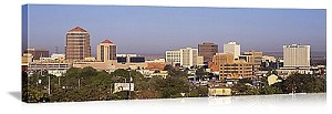 Albuquerque, New Mexico City Buildings Panorama Picture