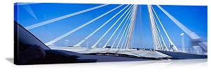 Charleston, South Carolina Cooper River Bridge Panorama Picture