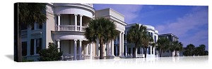 Charleston, South Carolina Historic East Bay Street Panorama Picture