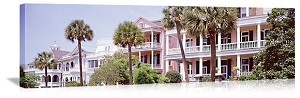 Charleston, South Carolina Historic South Battery Street Panorama Picture