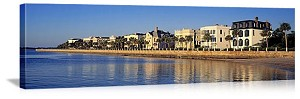 Charleston, South Carolina  Waterfront Skyline Panorama Picture