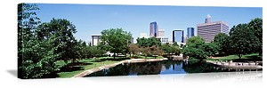 Charlotte, North Carolina Marshall Park Panorama Picture