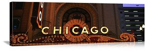 Chicago, Illinois Chicago Theater Panorama Picture