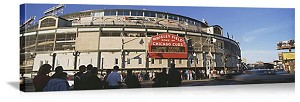 Chicago, Illinois Wrigley Field Panorama Picture