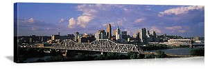 Cincinnati, Ohio Skyline Panorama Picture