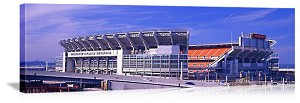 Cleveland, Ohio Cleveland Browns Stadium Panorama Picture