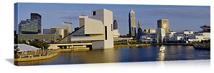 Cleveland, Ohio Rock & Roll Hall of Fame Panorama Picture
