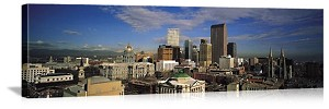 Downtown Denver, Colorado Skyline Panorama Picture