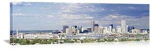 Denver, Colorado Invesco Stadium Panorama Picture