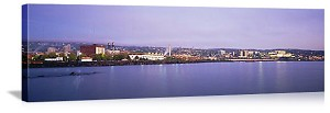 Duluth, Minnesota City Waterfront Panorama Picture
