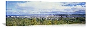 Duluth, Minnesota Harbor Skyline Panorama Picture