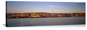 Duluth, Minnesota Lake Superior Waterfront Panorama Picture