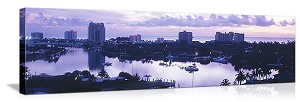 Fort Lauderdale, Florida Skyline Panorama Picture