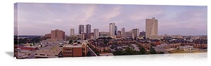 Fort Worth, Texas Skyline Panorama Picture