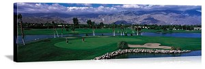 Palm Springs California Golf Course Picture