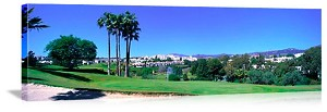 Marbella Andalucia Spain Golf Course Picture