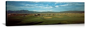 Taos New Mexico Golf Course Picture