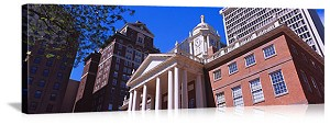 Hartford, Connecticut Old State House Panorama Picture