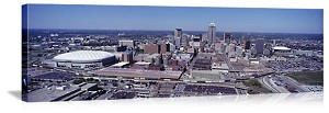 Indianapolis, Indiana Aerial Skyline Panorama Picture