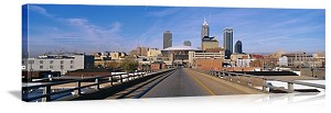 Indianapolis, Indiana Cityscape Panorama Picture