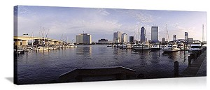 Jacksonville, Florida Harbor Panorama Picture