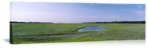 Jacksonville, Florida Salt Marshes Panorama Picture